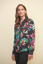 Joseph Ribkoff Tropical Shirt
