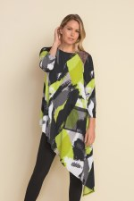 Joseph Ribkoff Abstract Tunic