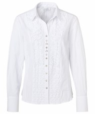 Just White Crinkle Shirt (41740)