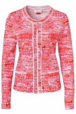 Just White Mosaic Jacket