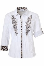 Just White Cornelli Shirt