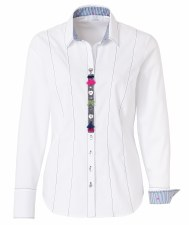 Just White Bow Blouse (61900)