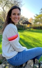 Luella Lindy Cashmere Stripe Jumper