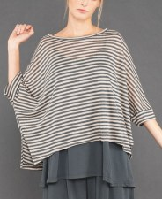 Mama b. Lago Striped Top