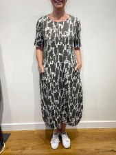 Mama b. Dogliani Printed Dress