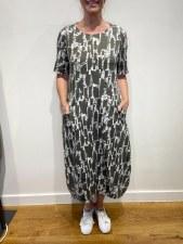 Mama b. Dogliani Printed Dress