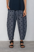 Mama b. Bianco Spot Trousers