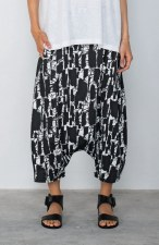 Mama b. Botte Print Harem Trousers