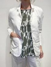 Mama b. Glicine Linen Jacket