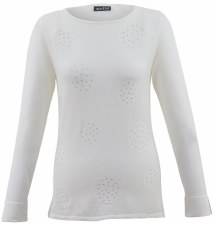 Marble Beaded Circle Top