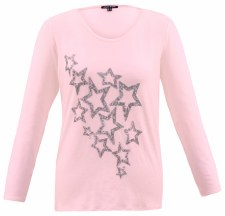 Marble Sequin Star Top