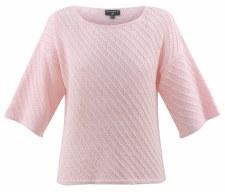 Marble Diagonal Knit Top