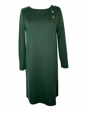 Maria Bellentani Button Knit Dress