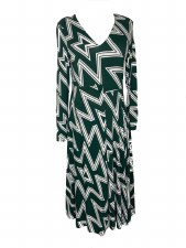 Maria Bellentani Lightning Jersey Dress