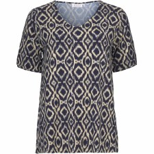 Masai Ikat Print Desiree Top