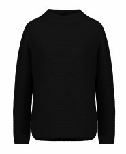 Monari Rib Turtle Neck Jumper