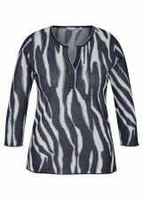 Rabe Zebra Print Top