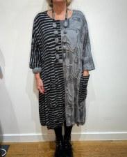 Ralston Striped Jersey Dress