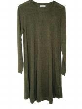 MERINO DRESS KHAKI 1322