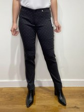Robell Rose Geometric Trousers