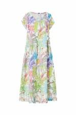 Sahara Jungle Linen Dress
