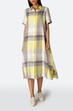 Sahara Check Shirt Dress