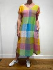 Sahara Giant Check Dress