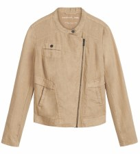 Sandwich Linen Zip Jacket