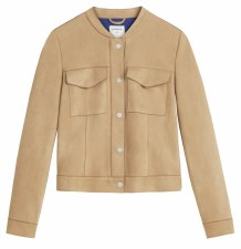 Sandwich Faux Suede Jacket