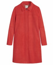 Sandwich Faux Suede Coat