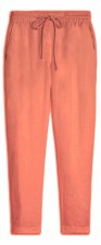 Sandwich Linen Button Trousers