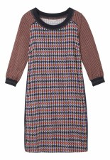 Sandwich Dogtooth Dress