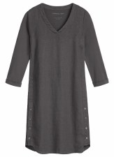 Sandwich Stretch Linen Dress