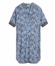 Sandwich Spot Print Dress