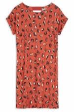 Sandwich Print Dress