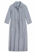 Sandwich Chambray Linen Dress