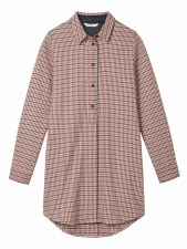 Sandwich Dogtooth Shirt Jacket