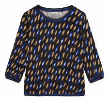 Sandwich Oval Print Top