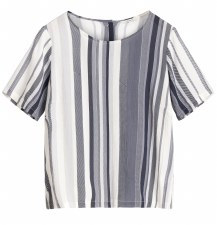 Sandwich Stripe Top
