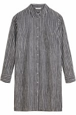 Sandwich Stripe Long Shirt