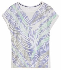 Sandwich Palm Print Top