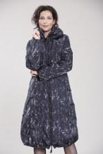 Vetono Print Duvet Coat