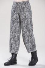 Vetono Herrigbone Jersey Trousers