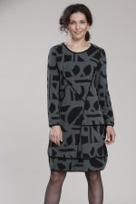 Vetono Jersey Print Dress