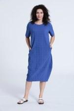 Vetono Textured 'O' Dress