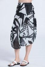 Vetono Art Silk Skirt