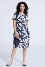 Vetono Art Silk Dress