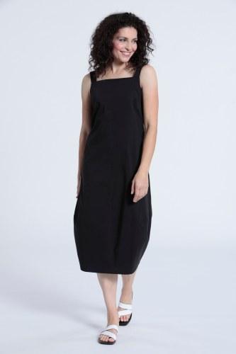 Vetono Poplin Strappy Dress