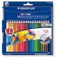Watercolour Pencils Noris 24Pk