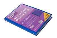 A4 Hardback Display folder 40